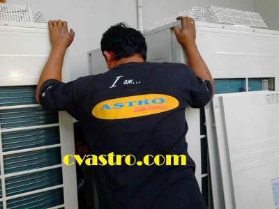 Pengadaan & Instalasi AC Split Duct Daikin 10 & 16 PK Permata Bank