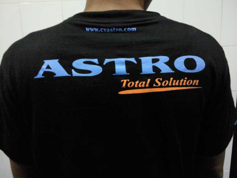 Uniform CV. ASTRO Total Solution di tahun 2009