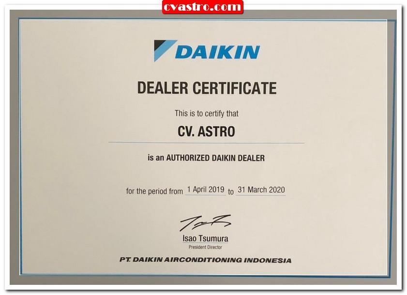 Dealer Daikin Indonesia