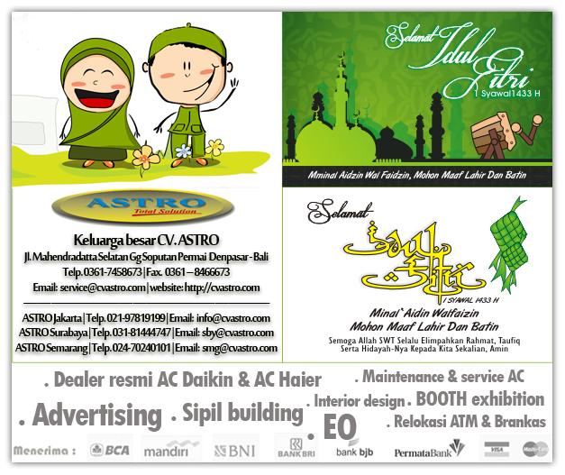 Idul Fitri 1433H (19-20 Agustus 2012