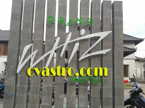 Signage hotel bali