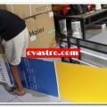 Produksi Neon box Akrilik