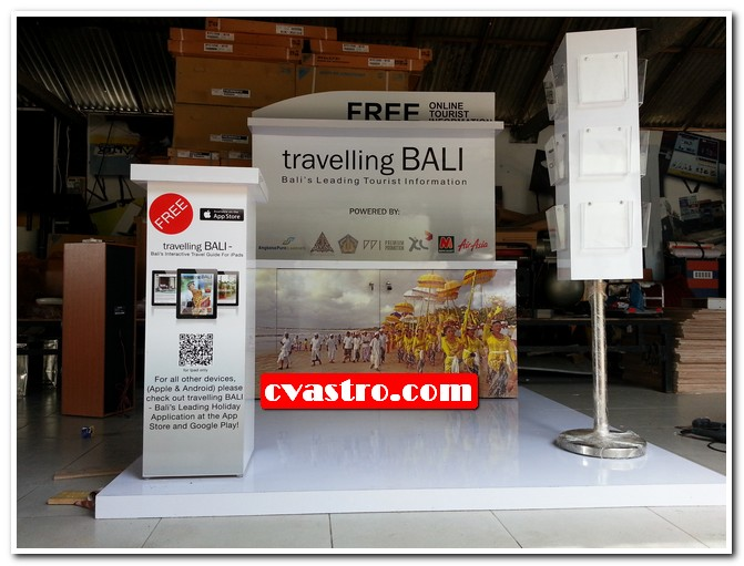 Booth travelling Bali
