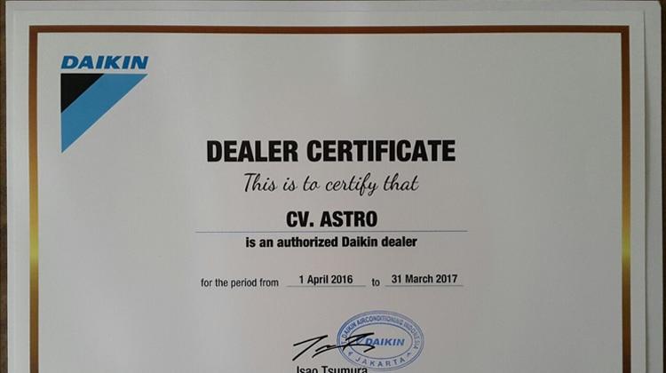 Dealer Resmi Daikin Pangkalpinang – Bangka Belitung