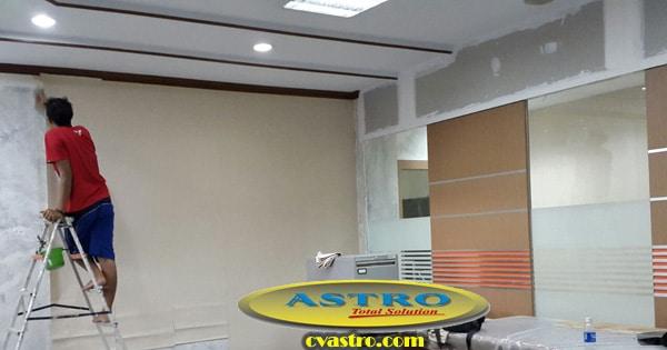 Pekerjaan Renovasi Interior Kantor Bank di Bali