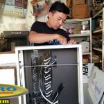 Produksi Neon Box Huruf Timbul Acrylic di Bali