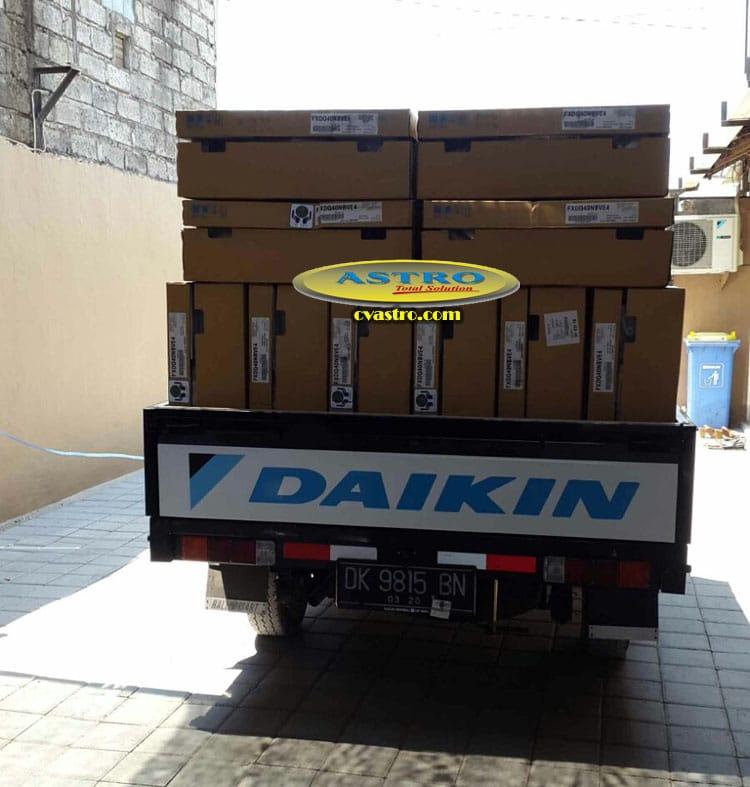 Pengadaan AC VRV Daikin di Kampial Bali