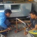 Pengadaan + Instalasi AC Daikin Split Duct 20 PK di Denpasar Bali