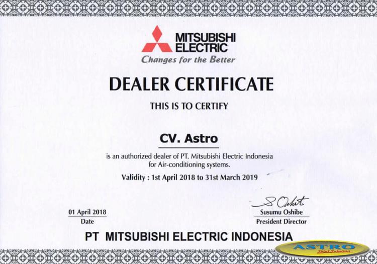 dealer resmi AC Mitsubishi Electric Indonesia