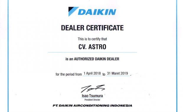 Authorized Daikin Dealer Indonesia