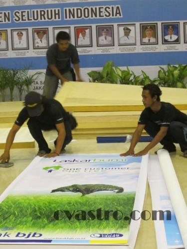 Booth exhibition BJB Westin Nusa Dua Hotel Bali